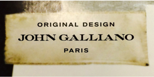 Farewell Address >> Revealed: John Galliano has a brand new logo - Red Cotton Candy