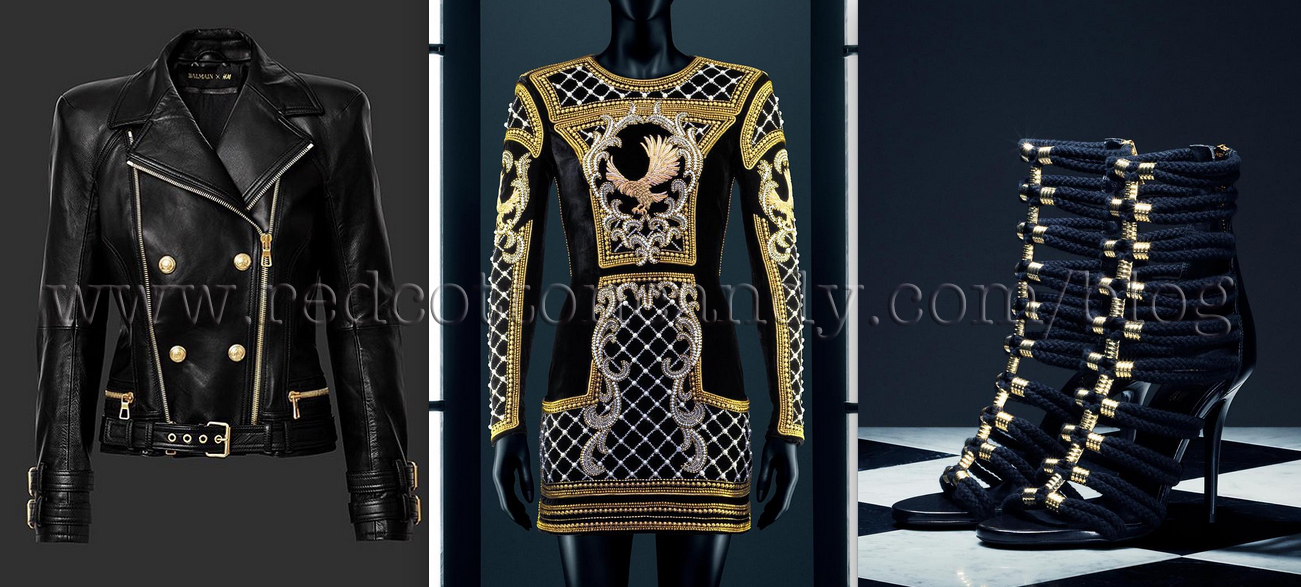 f7e357b746016 Balmain x H&M: Collection images leaked online! - Red Cotton Candy