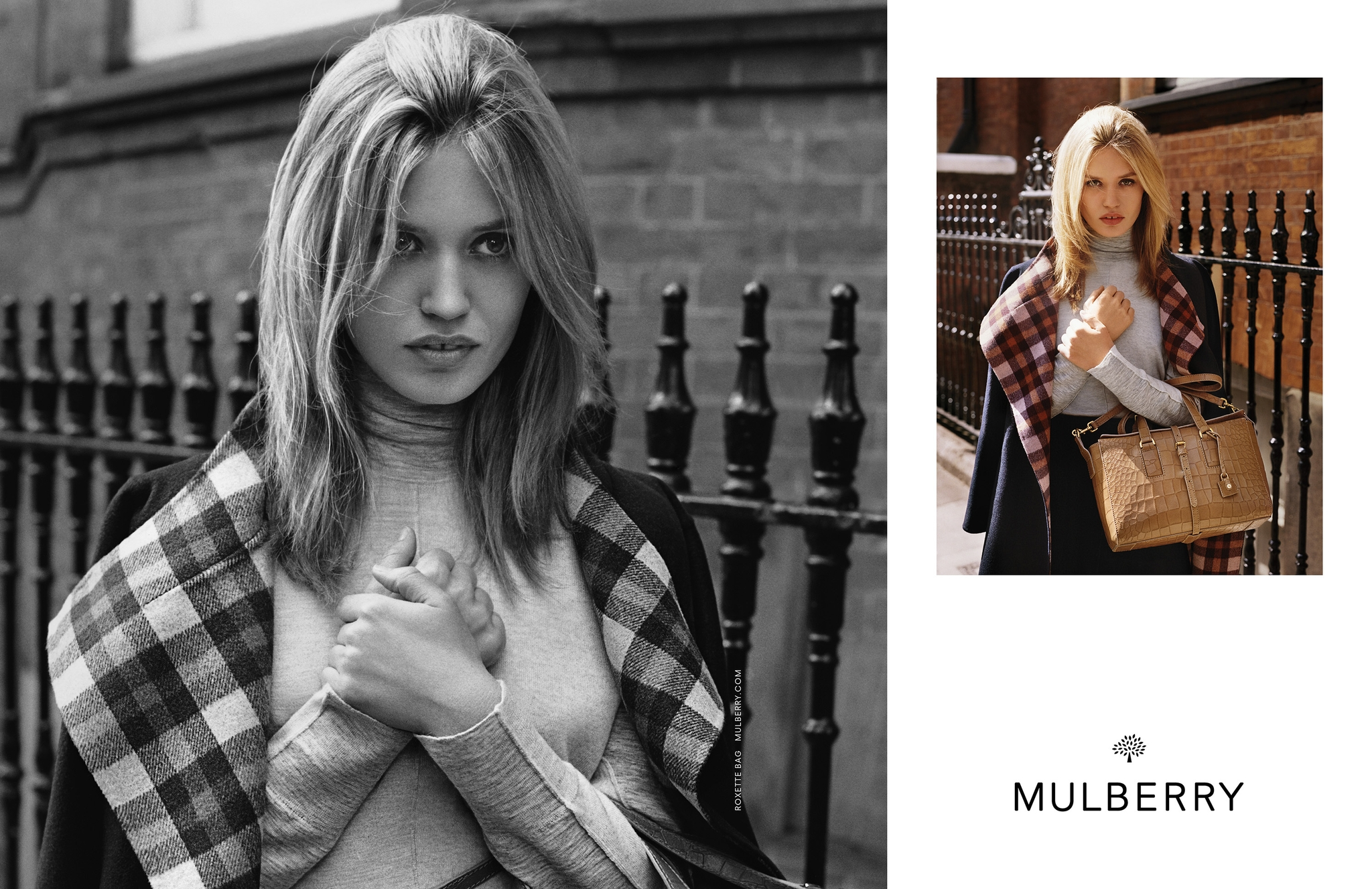 Georgia May Jagger fronts Mulberry FW15 campaign
