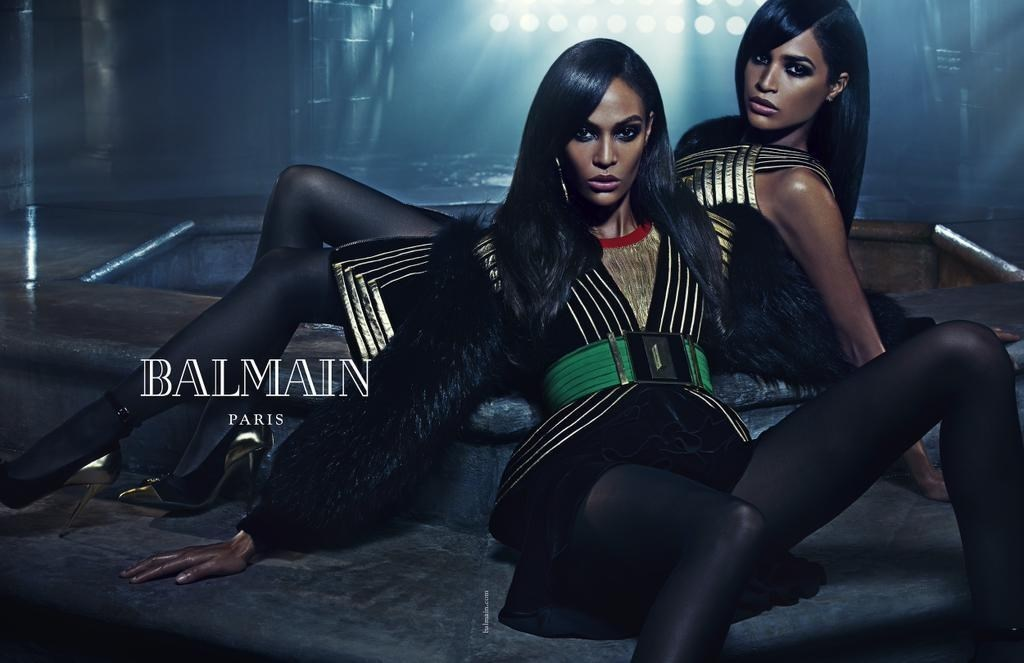Family Affair: Balmain unveils its new campaign for Fall 15