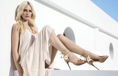 Poppy Delevingne X Aquazzura collection