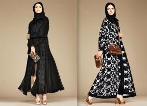 Hijab and Abaya Collection by Dolce & Gabbana
