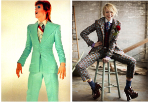 David Bowie in Life On Mars in 1971 vs fashion