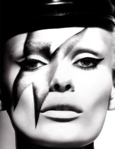 Edita Vilkeviciute by Camilla Akrans for Numero #123 May 2011: David Bowie Inspiration