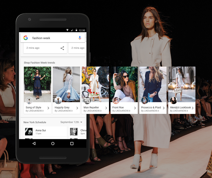 Google is lauching Shop The Look